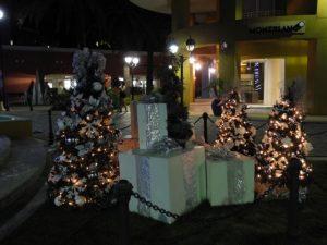 Village de Willestad décoré pour Noël
