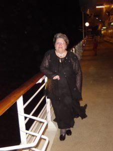 Micheline en tenue de gala - pont 4