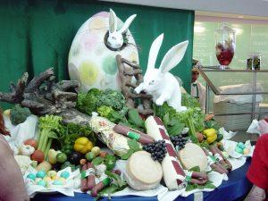 Jour de Pâques au diner