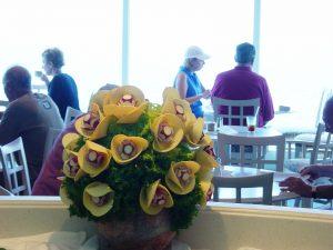 Pot de fleurs de légumes