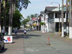 Une rue du petit village
