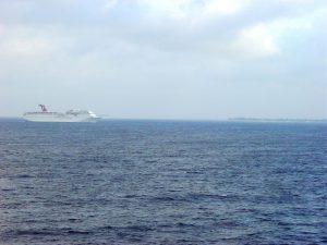 D'autres navires au large