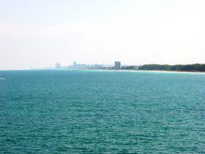 Miami au loin