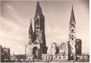 église bombardé