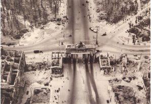 Brandebourg bombardé
