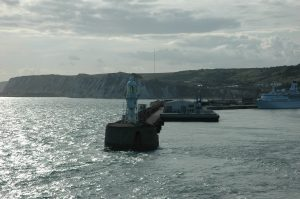 On quitte le Port de Douvres (Dover) Angleterre
