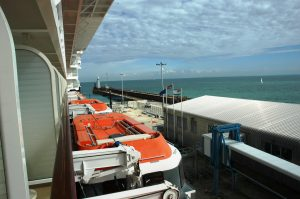 Port de Douvres (Dover) Angleterre