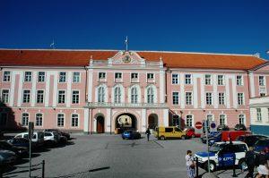 Parlement de Tallinn en Estonie