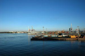 Au port de Helsinki