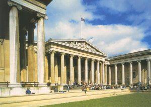 L'entrée du British Museum