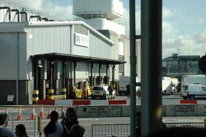 La sortie du Terminal
