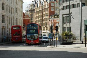 Autobus typiques de Londres