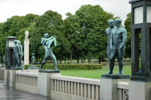 Sculpture d'humains