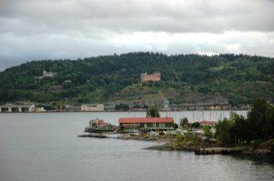 L'arrivée à Oslo