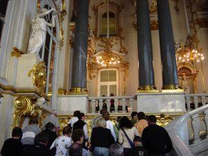 Palais d'hiver - grand escalier de Jourdain