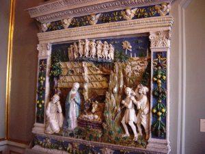 La Nativité de francesco della robbia