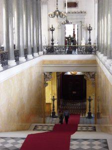 escalier dhonneur Trerebenev nouvel Ermitage