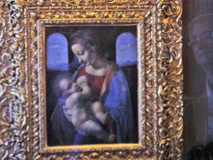 La madonna litta de Leonardo da Vinci