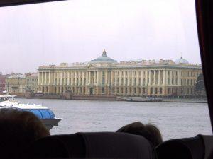 Musée L'Ermitage - vue depuis l'autobus
