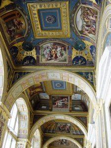 Plafond des loges de Raphäel