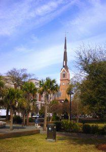 Une des églises de Charleston