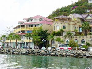 Marigot est la ville française de St.Martin