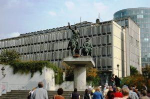 Statue de Don Quichotte & Sancho de la Panza