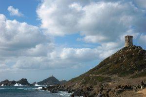 îles Sanguinaires et le Chateau