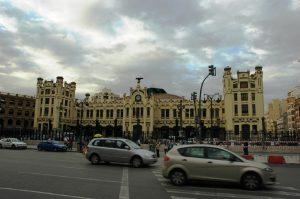 Nord Estacio de façade de gare ferroviaire de Valence