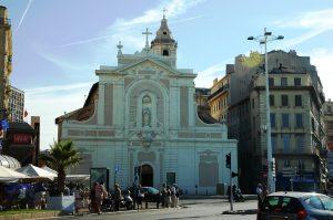 L'église Saint-Ferréol sur le vieux port