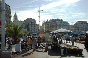 Le marché au port