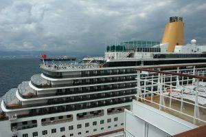 Notre voisin au port, le navire Arcadia