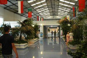 Intérieur du Terminal portuaire