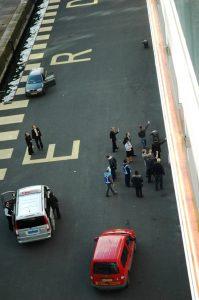 Des passagers arrivés en retard le capitaine s'est rapproché du bord