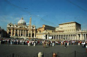 Le Vatican vue de l'autobus