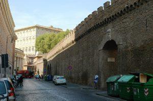 Les remparts près du Vatican