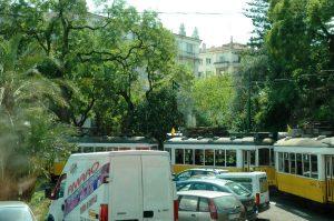 La vieille ville en tramway