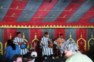 Musiciens à la Cérémonie du thé