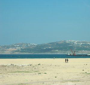 La plage de Tanger