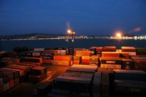 Au port le soir