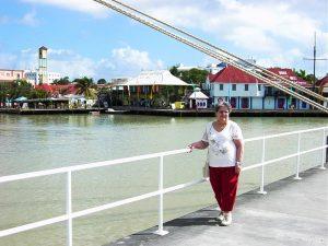 Micheline sur le quai