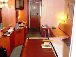L'intérieur de la cabine