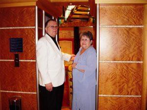Daniel et Micheline en tenue de Gala