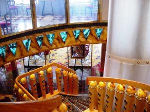 L'escalier colorée