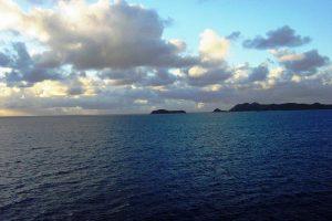 L'arrivée à Tortola