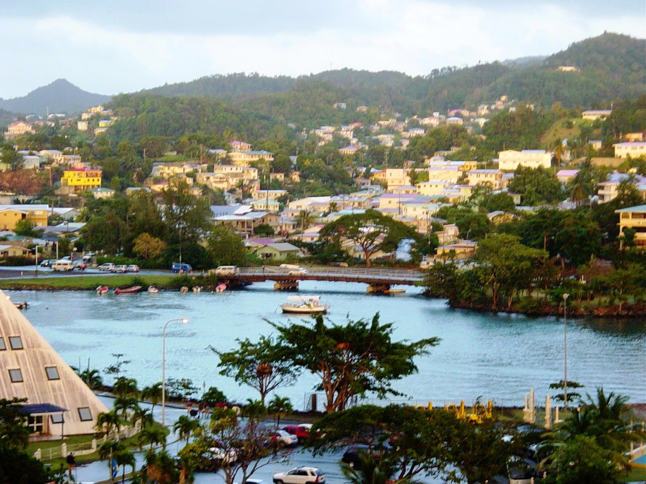 L'île après l'orage