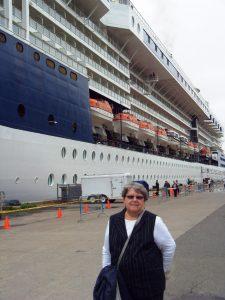 Micheline au port de Québec