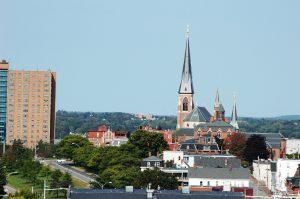 La ville vue de notre balcon