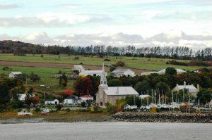Un village de l'Île