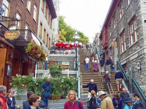 L'escalier du Petit Champlain